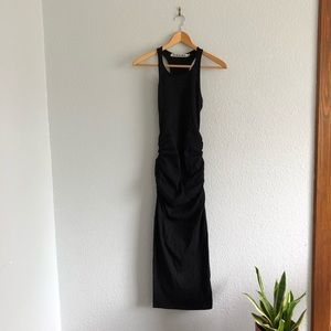 Michael Stars Black Racerback Knit Maxi Dress NWOT